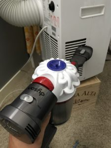 clean your portable AC