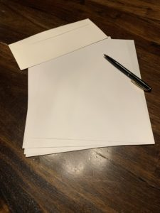 write a letter to your kid.