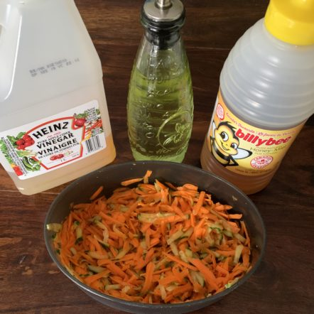 Super Simple Carrot Slaw